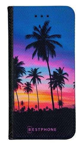 Portfel Wallet Case Samsung Galaxy Xcover 5 wieczorne palmy