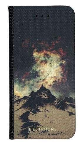 Portfel Wallet Case Samsung Galaxy Xcover 5 zorza nad górami