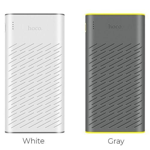 Power Bank Powerbank 30000mAh Hoco REGE B31A bateria zewnętrzna biały