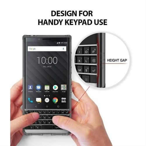 RINGKE FUSION BLACKBERRY KEYTWO/KEY2 SMOKE BLACK