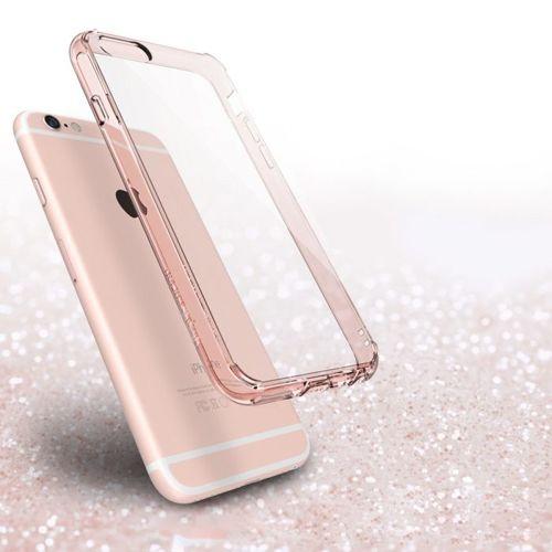 Ringke Fusion etui pokrowiec z żelową ramką iPhone 6S / 6 czarny (RFAP011-RPKG)