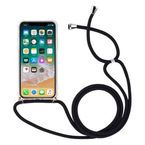 Rope case żelowe etui ze smyczą torebka smycz iPhone 8 Plus / iPhone 7 Plus przezroczysty