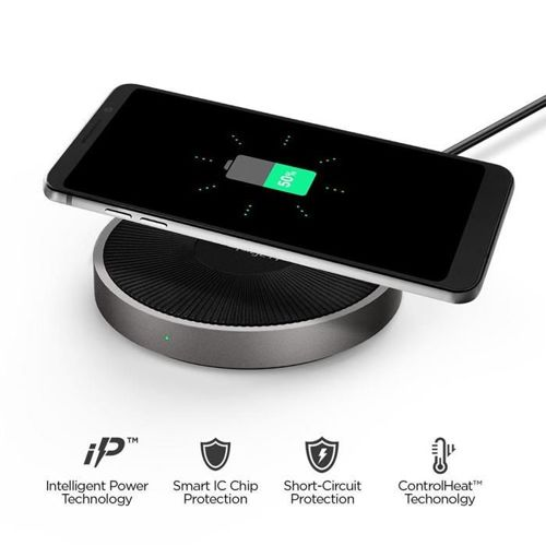 SPIGEN F306W WIRELESS FAST CHARGER BLACK