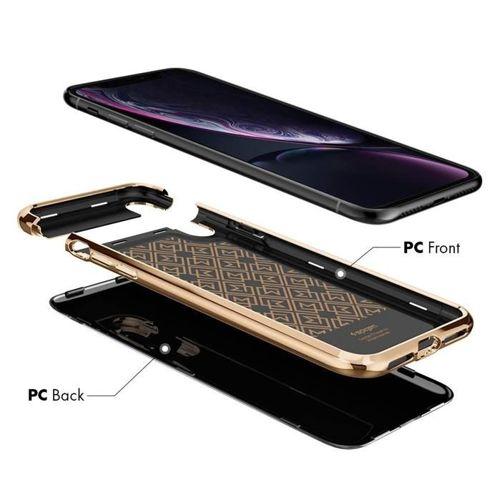 SPIGEN LA MANON IPHONE XR GOLD BLACK
