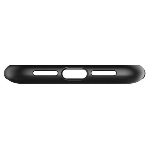 SPIGEN SLIM ARMOR IPHONE 11 BLACK +szkło 3MK HG Lite