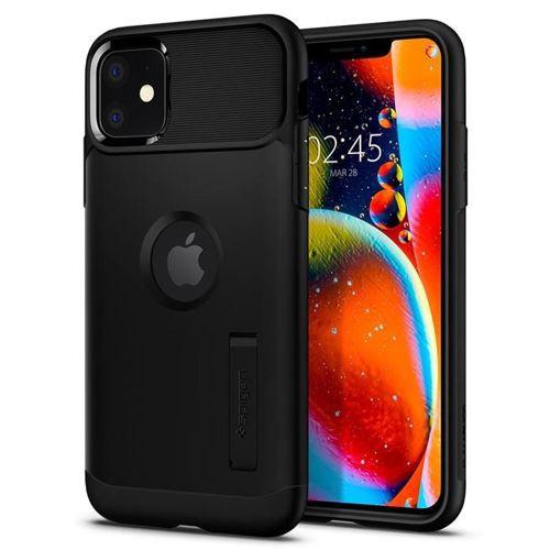 SPIGEN SLIM ARMOR IPHONE 11 BLACK + szkło 5D UV