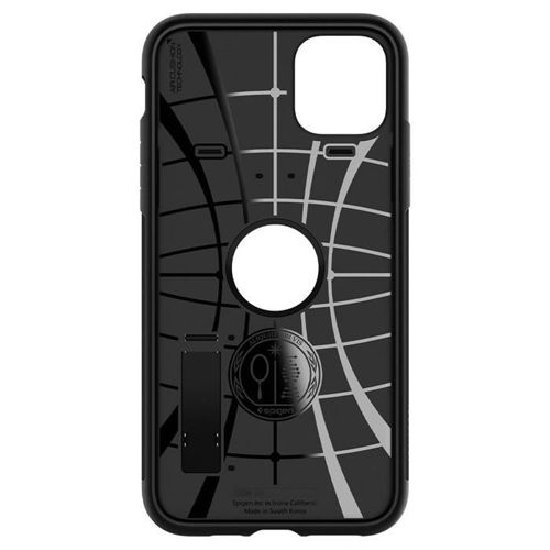 SPIGEN SLIM ARMOR IPHONE 11 PRO BLACK + szkło 5D UV