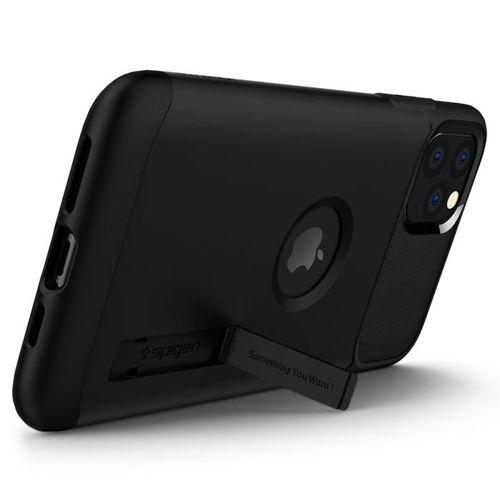 SPIGEN SLIM ARMOR IPHONE 11 PRO MAX BLACK+ Folia 3MK FG