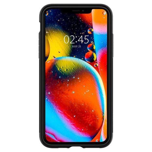 SPIGEN SLIM ARMOR IPHONE 11 PRO MAX BLACK +szkło 3MK HG Lite