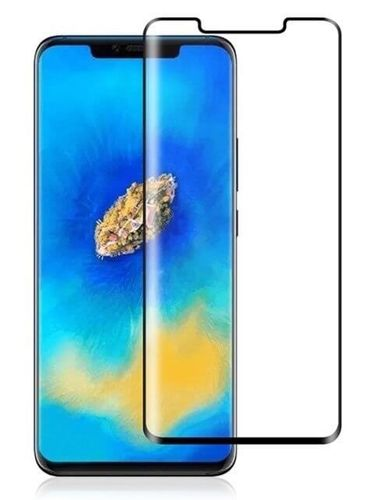 SZKŁO HARTOWANE FULL GLUE Huawei MATE 20 PRO czarny