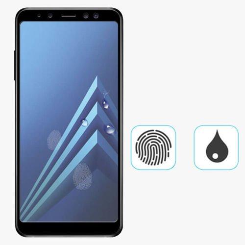 SZKŁO HARTOWANE FULL GLUE Samsung GALAXY A6 2018 czarny