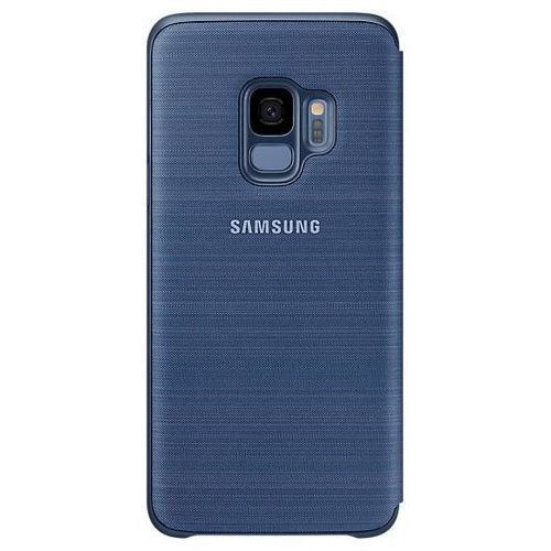 Samsung LED View Cover etui pokrowiec z wyświetlaczem LED Samsung Galaxy S9 G960 niebieski (EF-NG960PLEGWW)