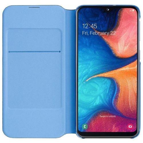 Samsung Wallet Cover etui kabura bookcase z kieszonką na kartę Samsung Galaxy A20e czarny (EF-WA202PBEGWW)