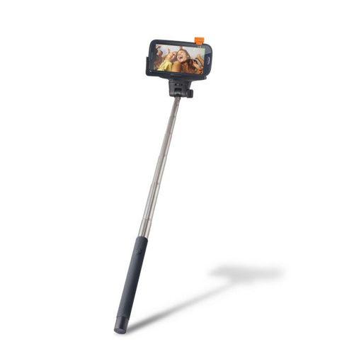 Selfie Stick kijek z uchwytem / wysięgnik / statyw Setty bluetooth czarny