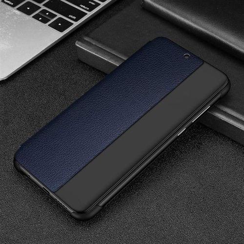 Sleep Case pokrowiec etui z klapką typu Smart Cover Huawei Mate 20 Lite niebieski