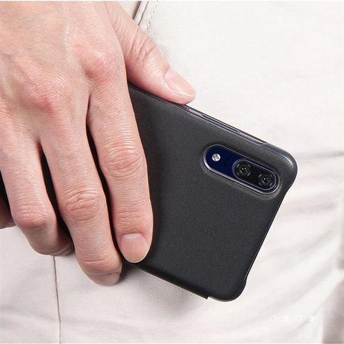 Sleep Case pokrowiec etui z klapką typu Smart Cover Huawei P20 Pro różowy