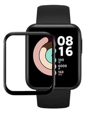 Szkło Hybrydowe FULL GLUE 5D do Xiaomi Mi Watch Lite czarny