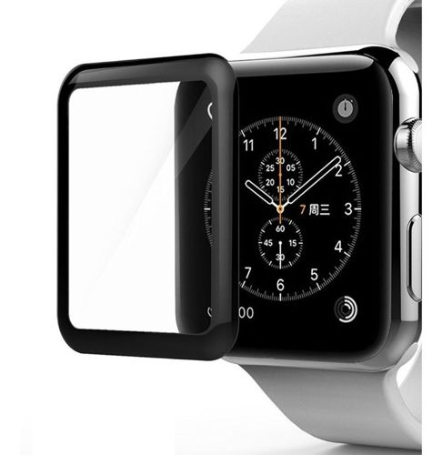 Szkło hartowane 5D APPLE WATCH 40mm na smartwatch Full Glue czarne