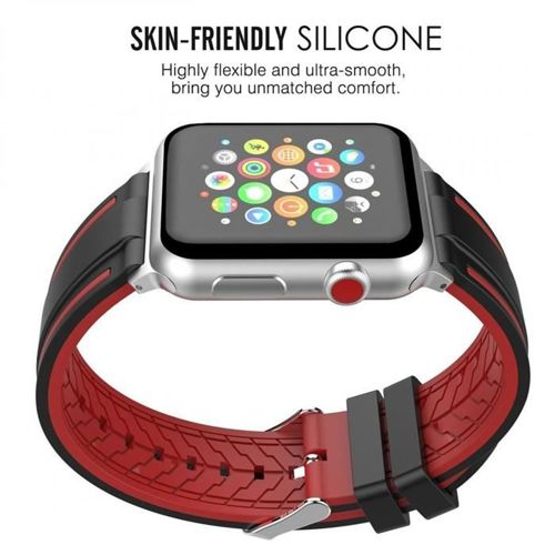 TECH-PROTECT FENDY APPLE WATCH 1/2/3 (42MM) BLACK/RED