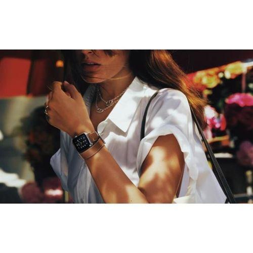 TECH-PROTECT LONG opaska pasek bransoleta HERMS APPLE WATCH 1/2/3 (38MM) BROWN