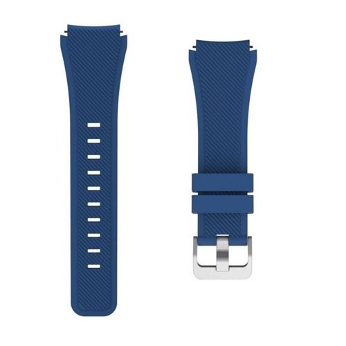 TECH-PROTECT SMOOTH opaska pasek bransoleta BAND SAMSUNG GEAR S3 MIDNIGHT BLUE