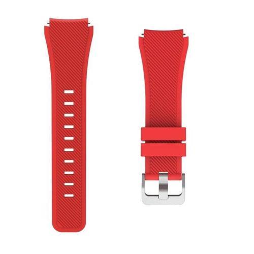 TECH-PROTECT SMOOTH opaska pasek bransoleta BAND SAMSUNG GEAR S3 RED