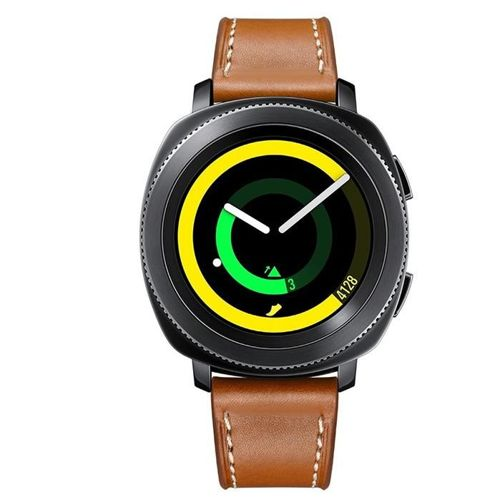 TECH-PROTECT opaska pasek bransoleta HERMS SAMSUNG GEAR S2/GEAR SPORT BROWN