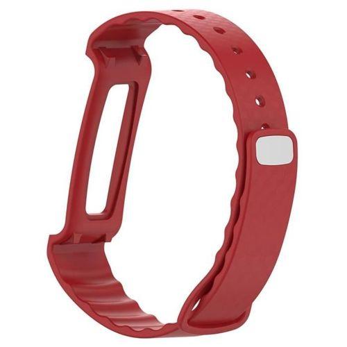 TECH-PROTECT opaska pasek bransoleta SMOOTH HUAWEI opaska pasek bransoleta BAND A2 RED