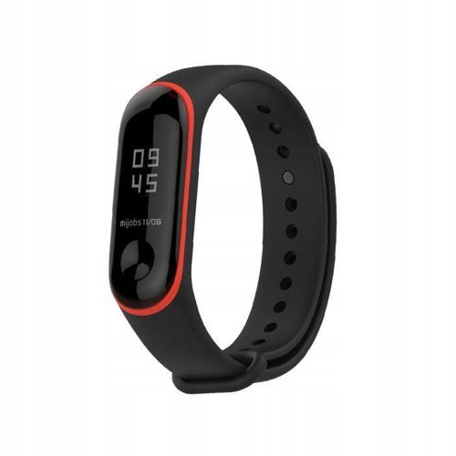 TECH-PROTECT opaska pasek bransoleta SMOOTH XIAOMI MI BAND 3 BLACK/RED