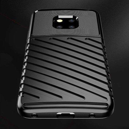 Thunder Case elastyczne pancerne etui pokrowiec Huawei Mate 20 Pro czarny