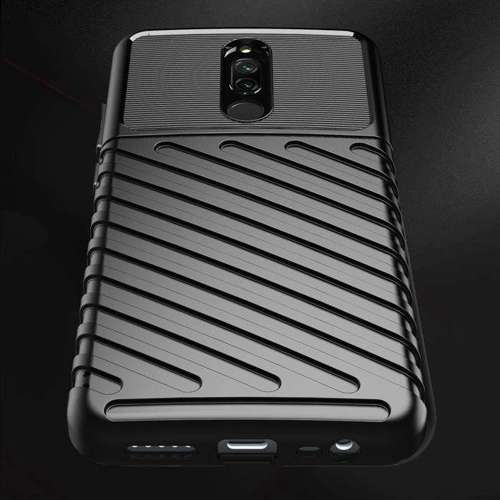 Thunder Case elastyczne pancerne etui pokrowiec Xiaomi Redmi 8 niebieski