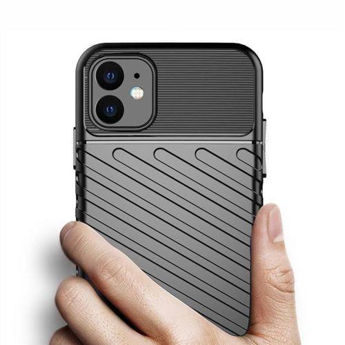 Thunder Case elastyczne pancerne etui pokrowiec iPhone 11 zielony