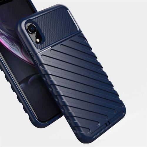 Thunder Case elastyczne pancerne etui pokrowiec iPhone XR czarny