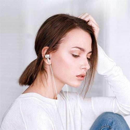 WK Design przewodowe słuchawki douszne ze złączem USB Typ C biały (Y12 white)