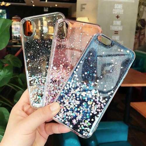 Wozinsky Star Glitter błyszczące etui pokrowiec z brokatem Samsung Galaxy A50s / Galaxy A50 / Galaxy A30s zielony