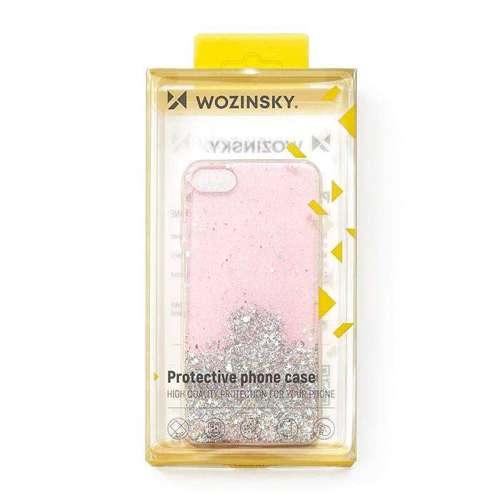 Wozinsky Star Glitter błyszczące etui pokrowiec z brokatem iPhone XR czarny