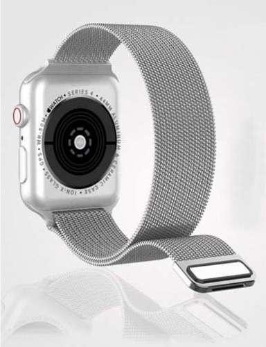 opaska pasek bransoleta MILANESEBAND Apple Watch 4/5/6/SE 40mm ROSE GOLD +szkło 5D