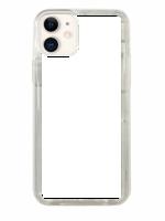 ZAPROJEKTUJ SWOJE ETUI Z BROKATEM Apple iPhone 11 Srebrny